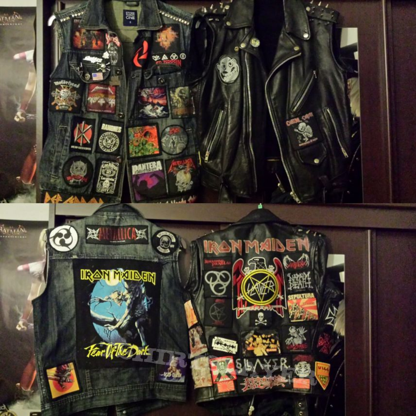 Slayer and Maiden Jackets