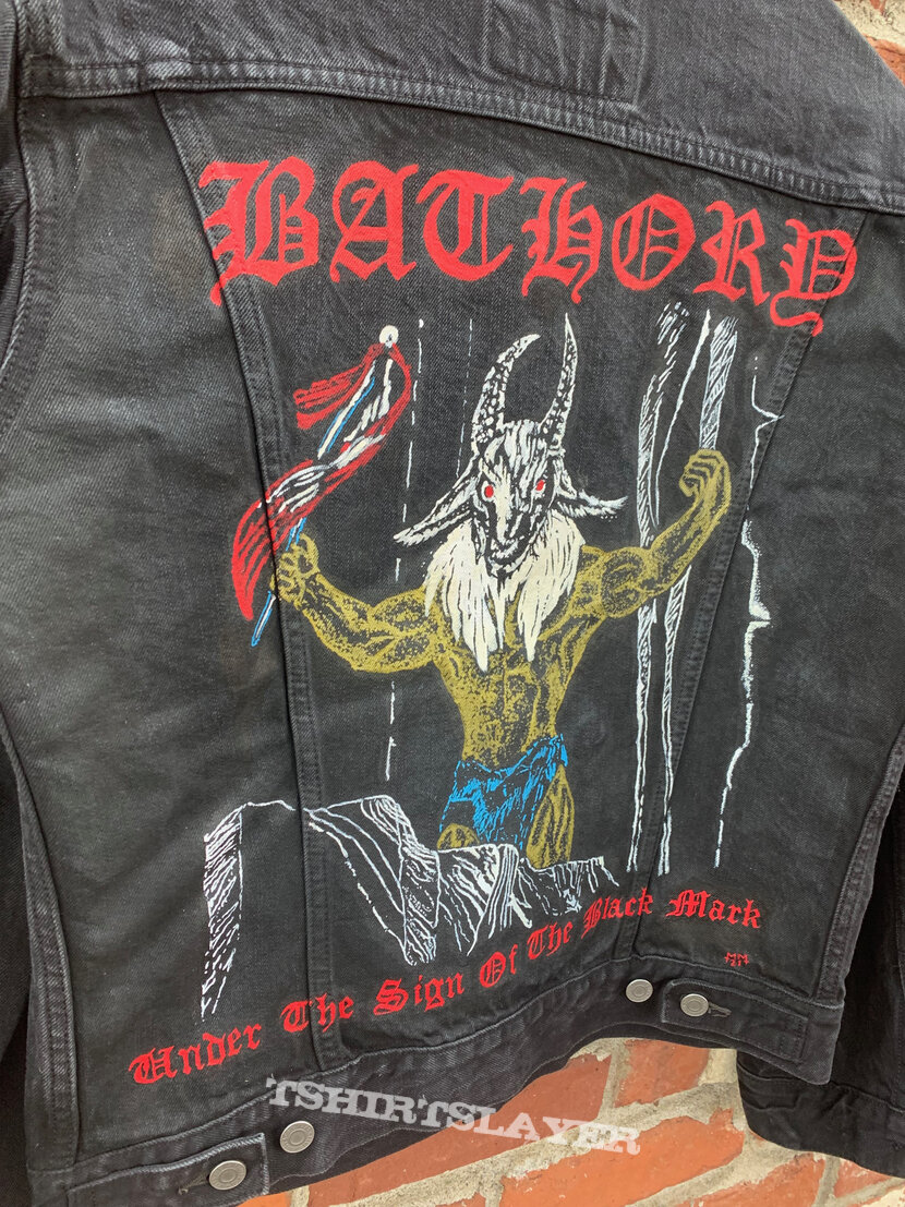 Bathory - Under the Sign of the Black Mark Hand-Painted Jacket