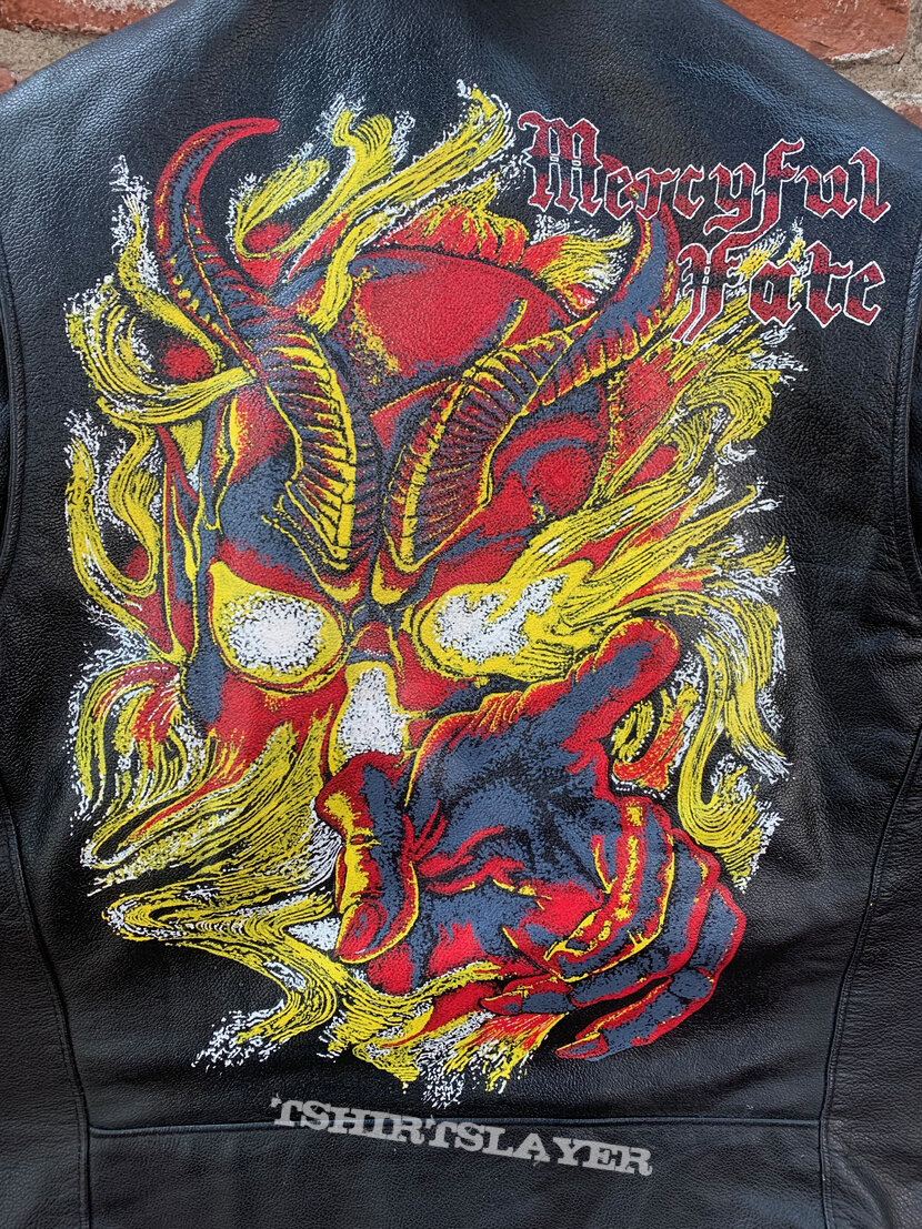 Mercyful Fate - Don't Break the Oath, Hand Painted Leather Motorcycle Jacket