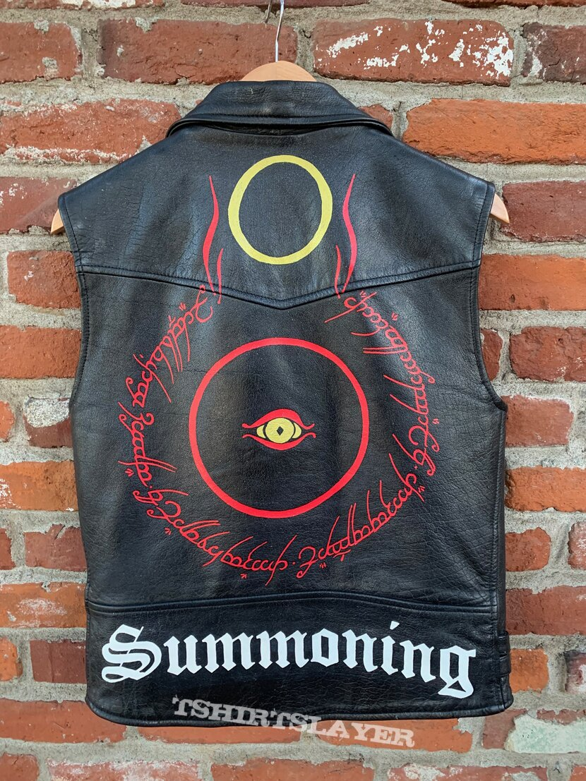 Summoning - LOTR Hand Painted Leather Vest