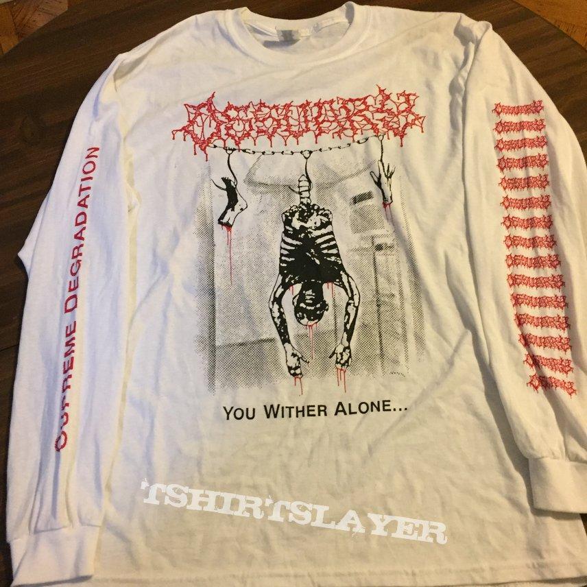"Ossuary ""Supreme Degredation"" longsleeve"
