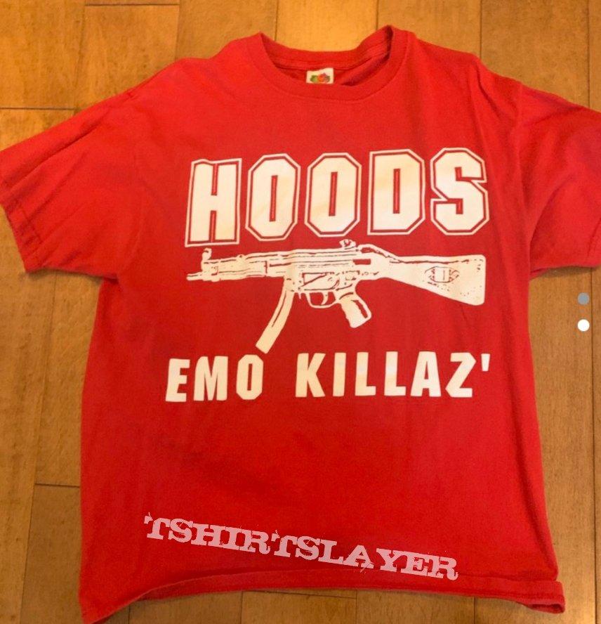 """HOODS Emo Killaz """"Bring the Hate"""" tshirt"""