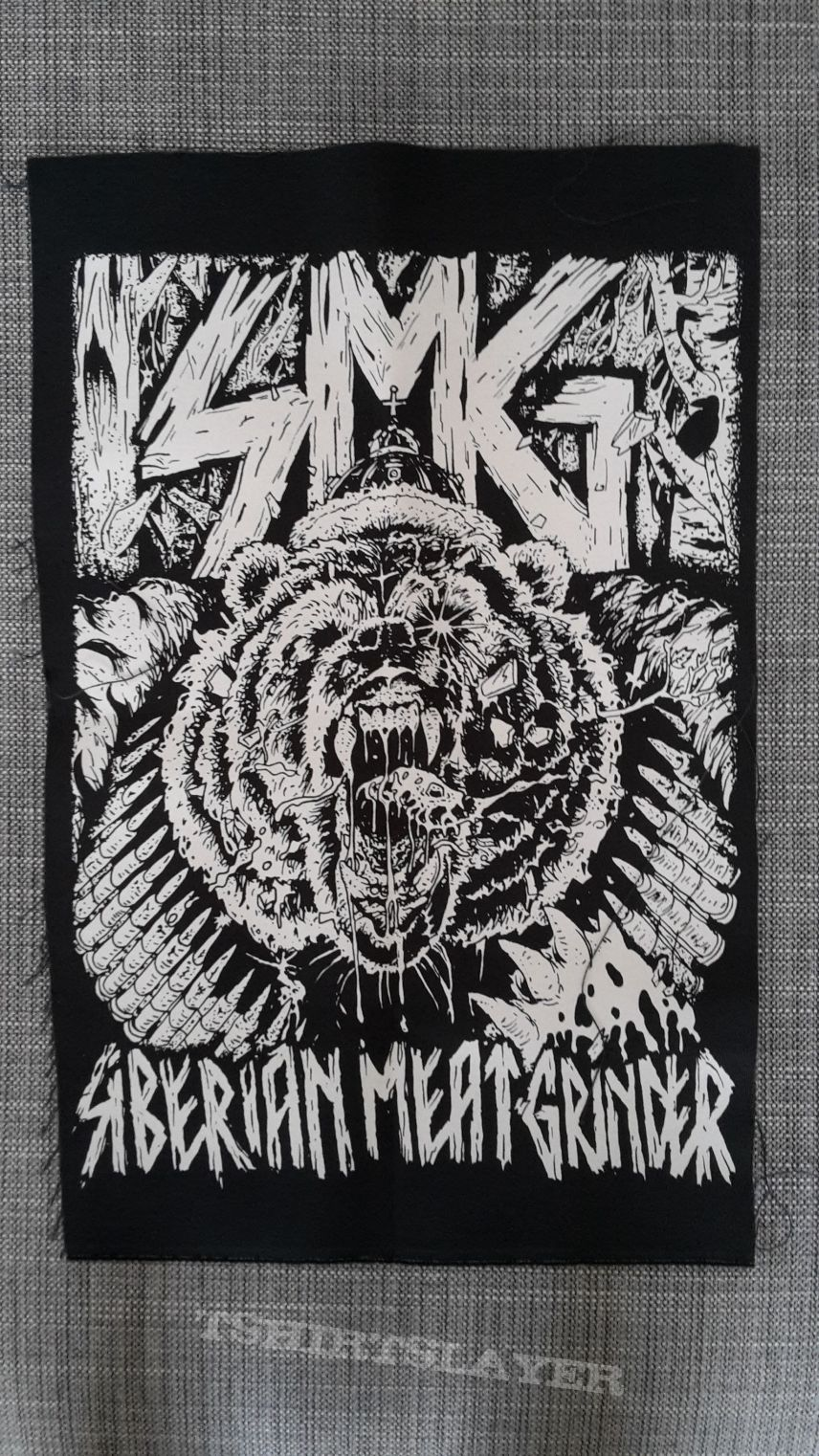 Siberian Meat Grinder Backpatch