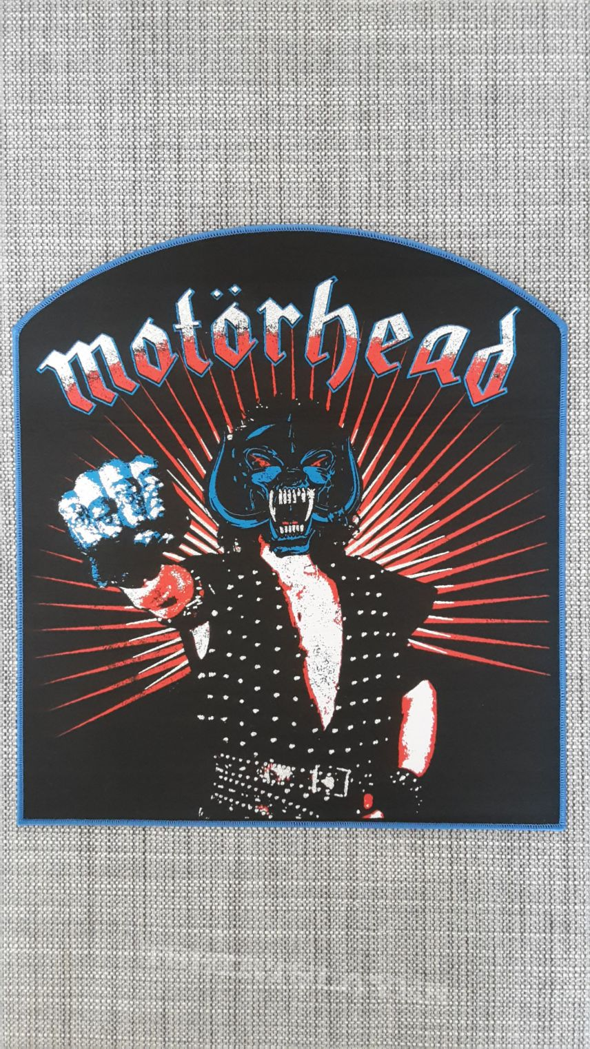 Woven Motörhead Backpatch Lemmy