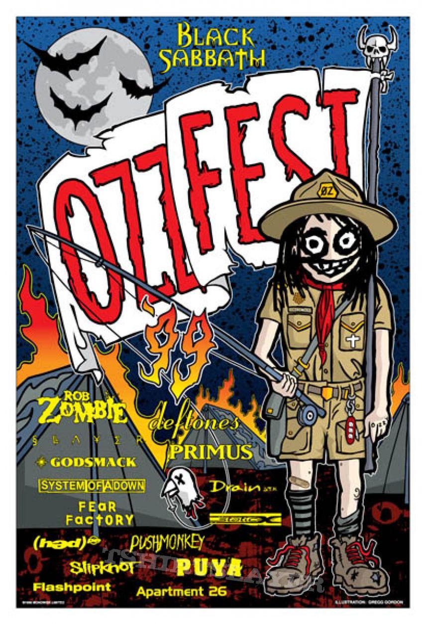 Ozzfest 1999 Poster