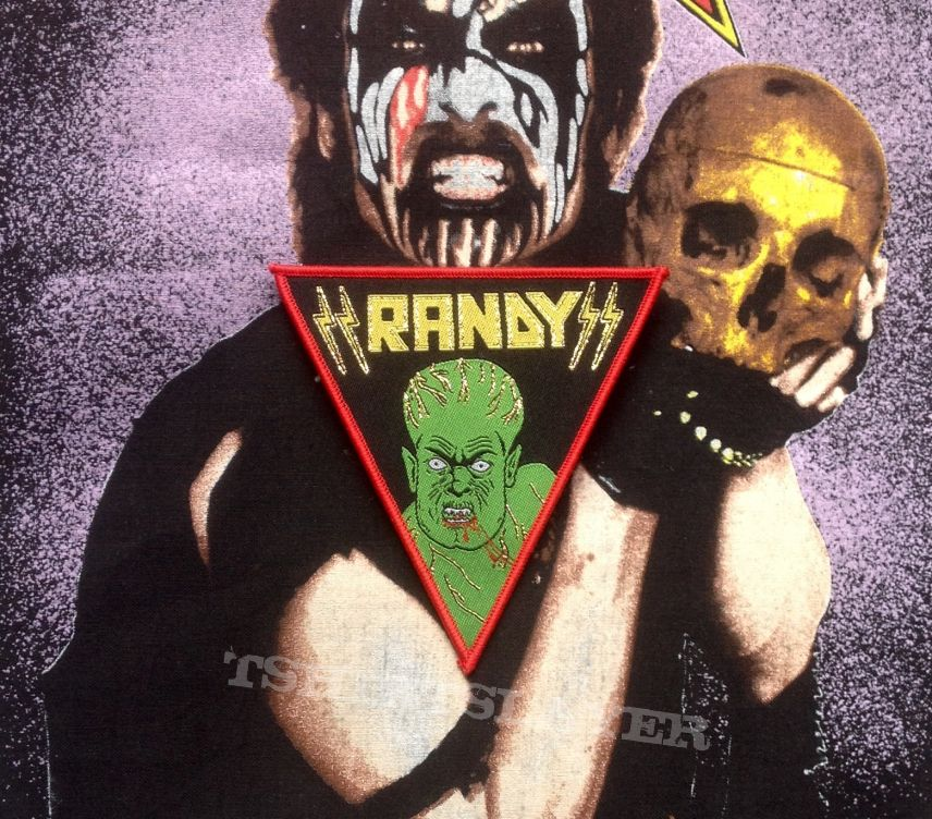 Randy- The Beast Woven Patch