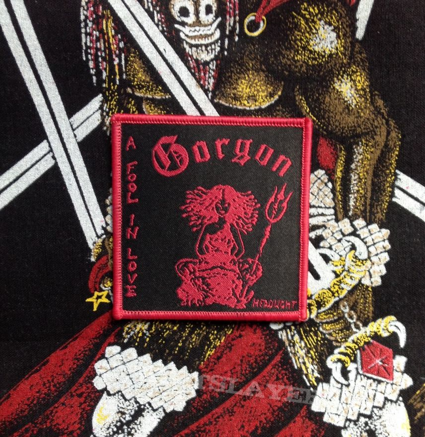 Gorgon- A Fool In Love Woven Patch