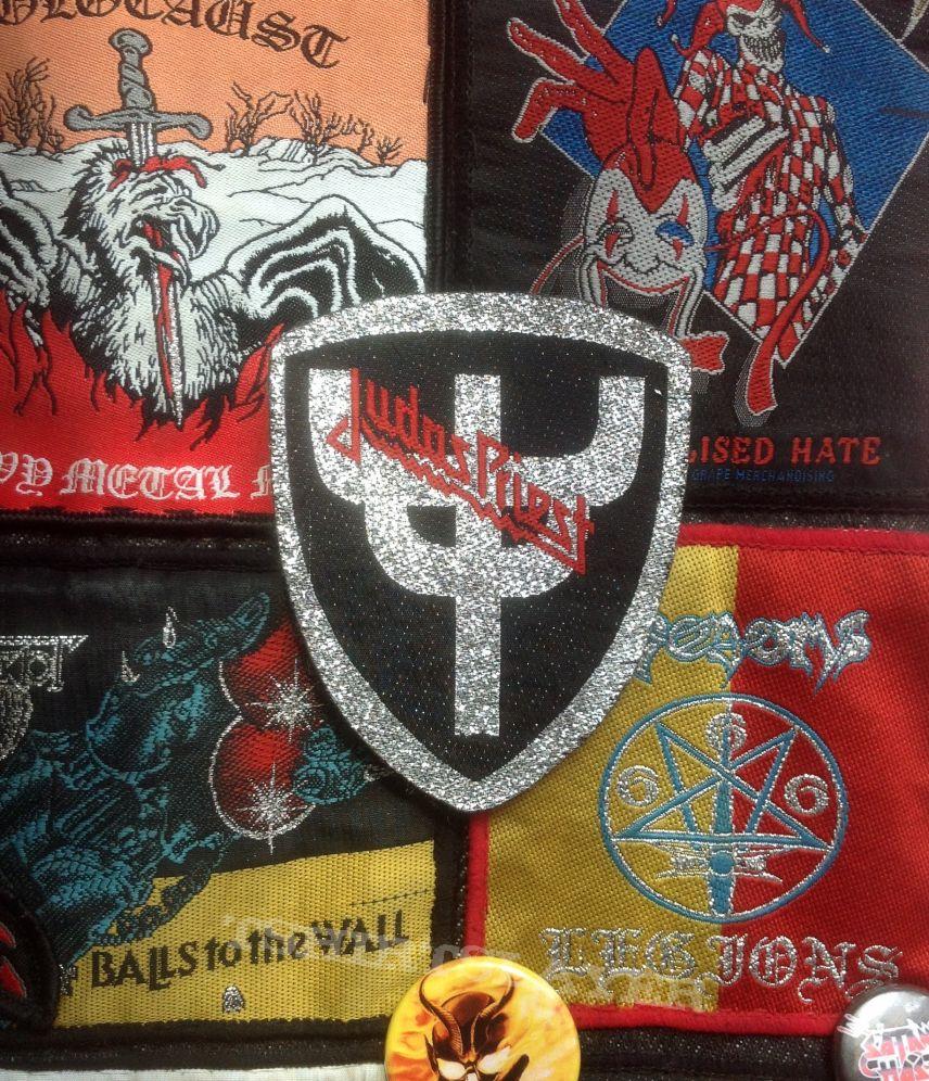 "Judas Priest- ""Shield Logo"" Woven Patch"