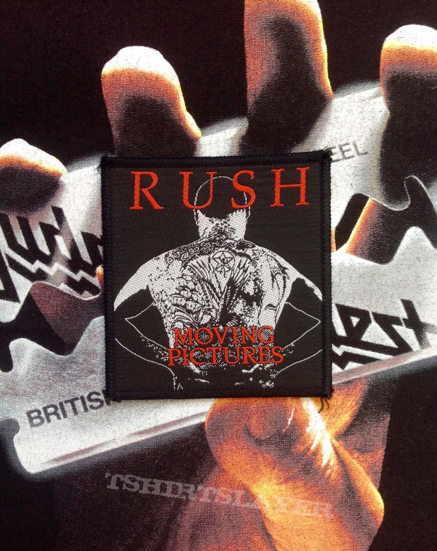 Rush - 'Moving Pictures' Woven Patch
