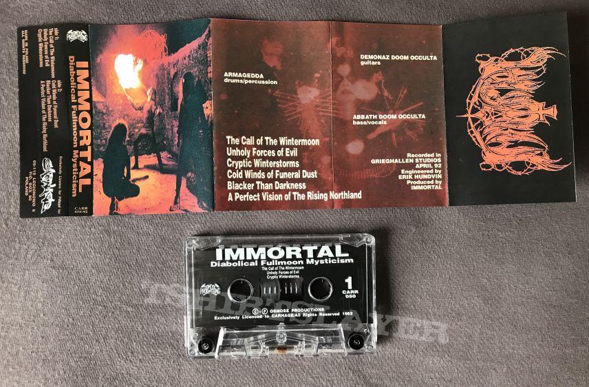 Immortal - Diabolical Fullmoon Mysticism Tape