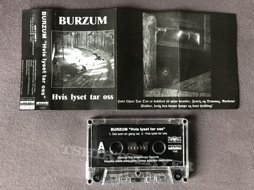Burzum - Hvis lyset tar oss Tape