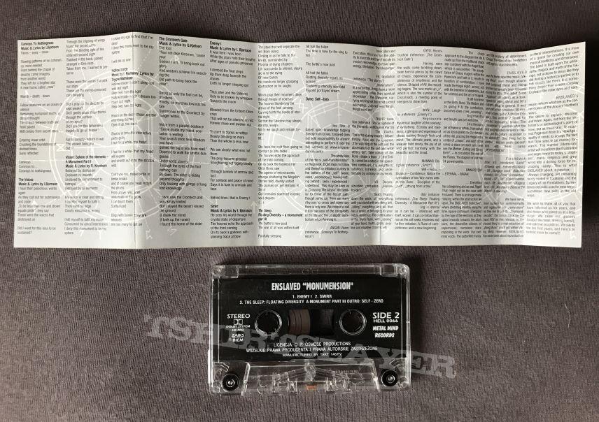Enslaved - Monumension Tape