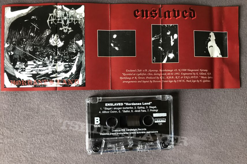 Emperor/Enslaved Split Tape