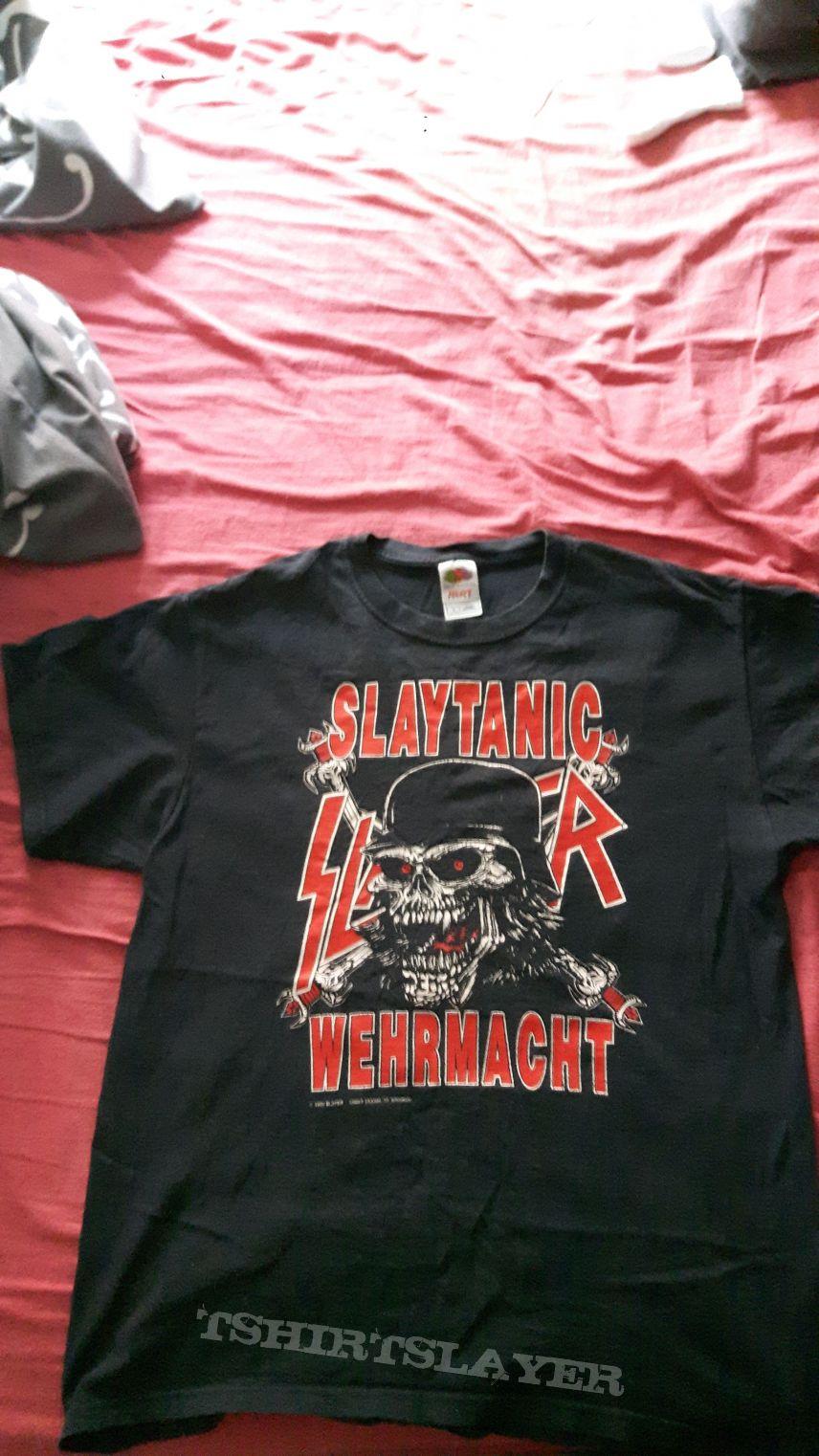 Slaytanic shirt