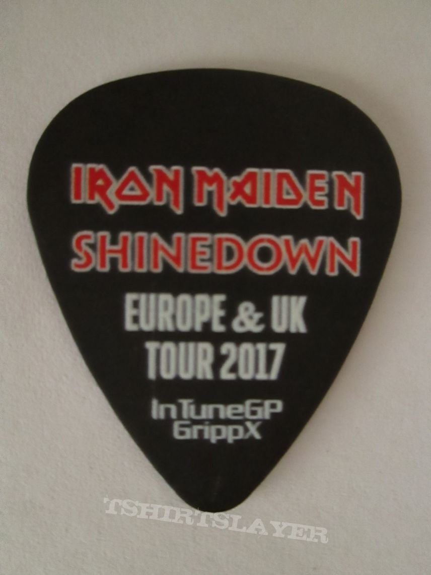 Iron Maiden/Shinedown - Europe & UK Tour 2017