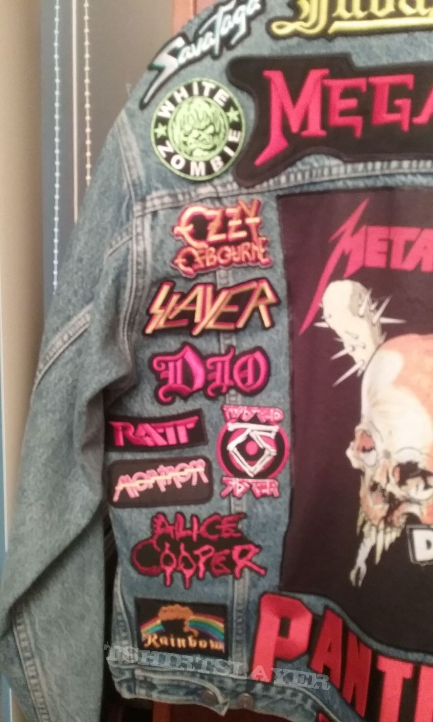 Completed Back of my Battle Jacket