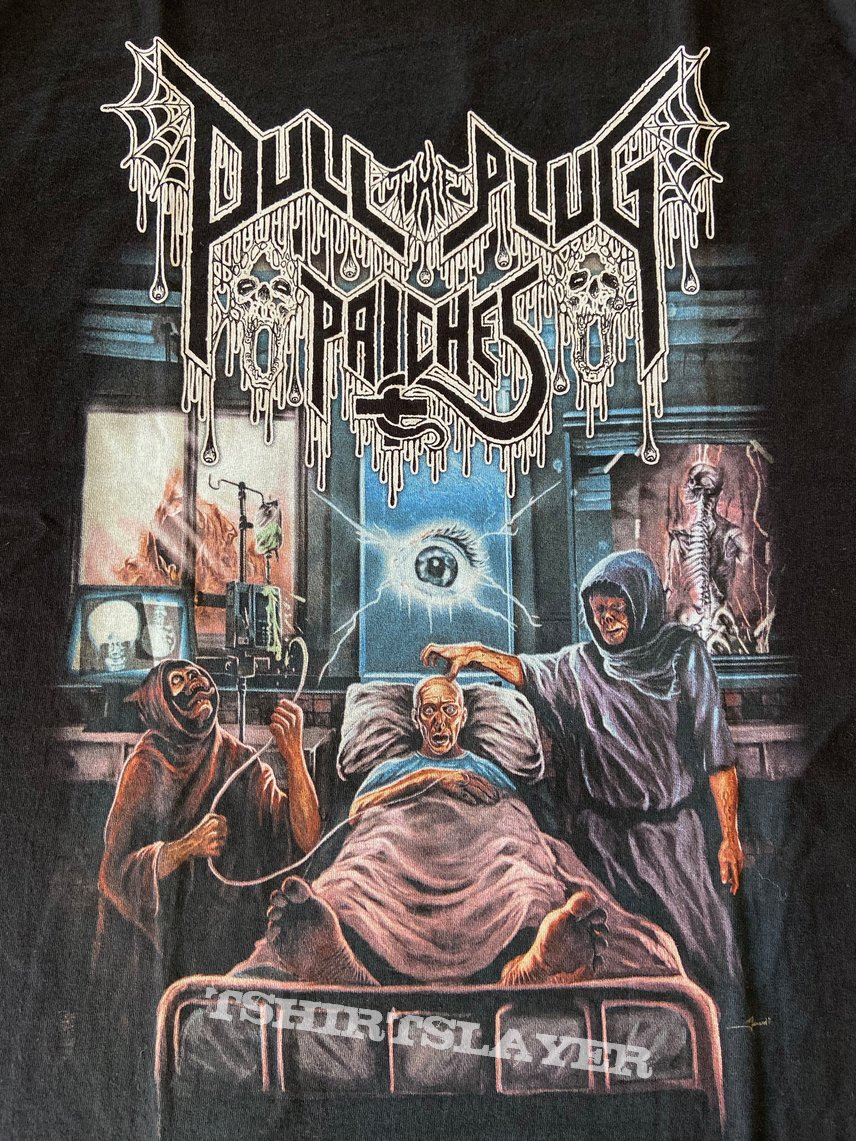 Pull The Plug Patches - Death Tribute