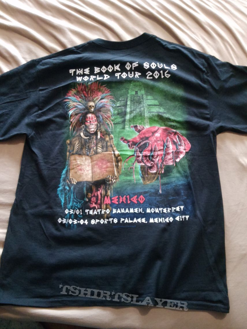 Iron Maiden 2016 Mexico event shirt