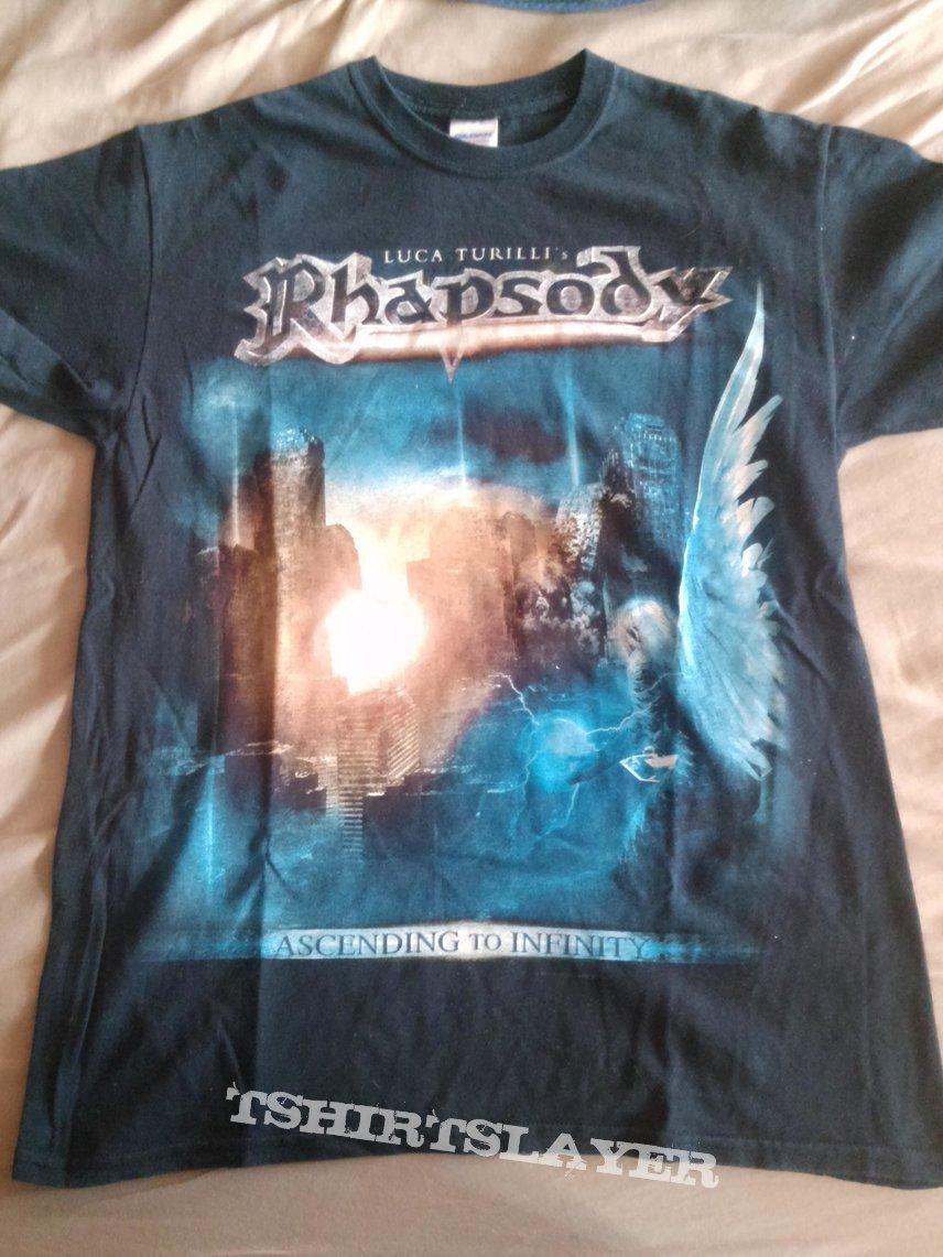 Luca Turilli's Rhapsody Tour Shirt 2013