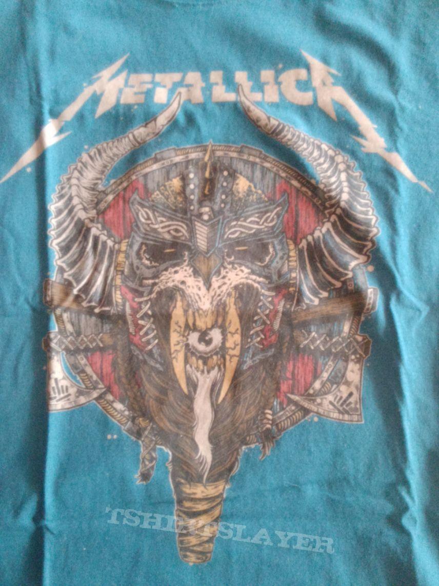 Metallica Tour shirt 2017