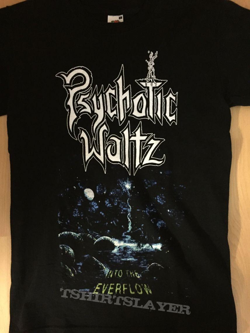 "PSYCHOTIC WALTZ - ""Into the Everflow"" T-Shirt"