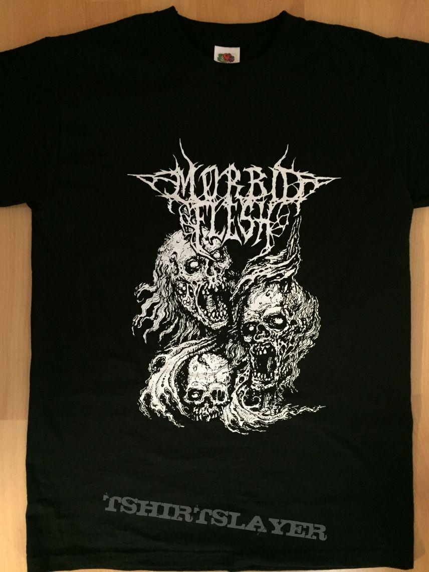 MORBID FLESH - Three Skulls T-Shirt