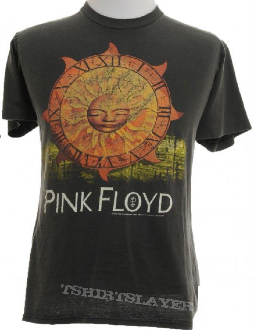 Pink Floyd Vintage 'Time' T-Shirt - 1994 Division Bell European Tour