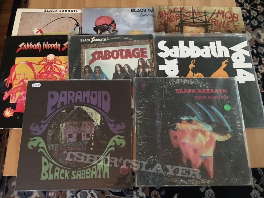 Sabbath LPs