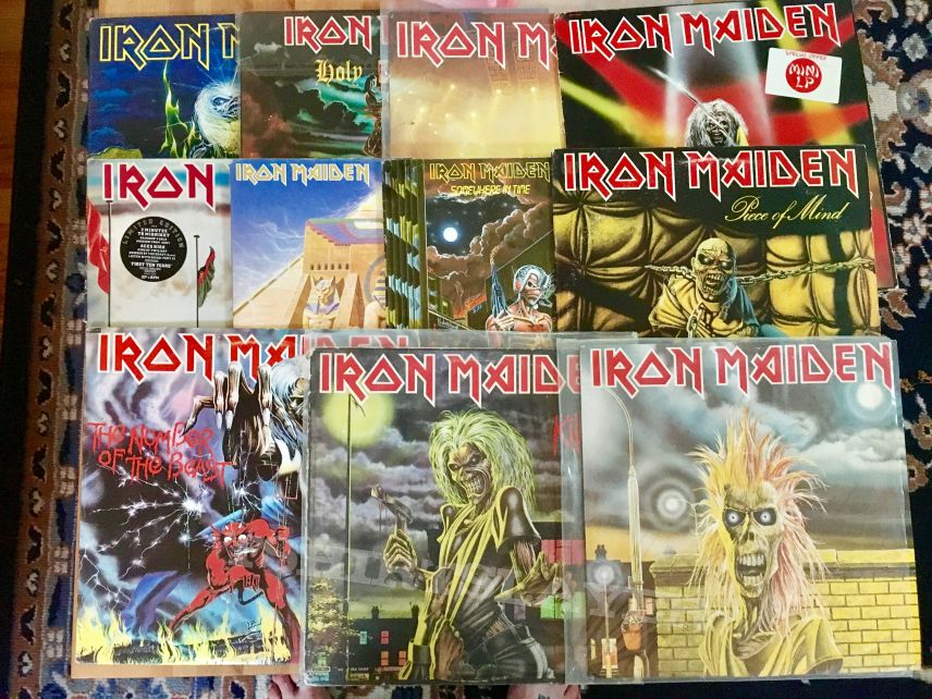 Iron Maiden LPs
