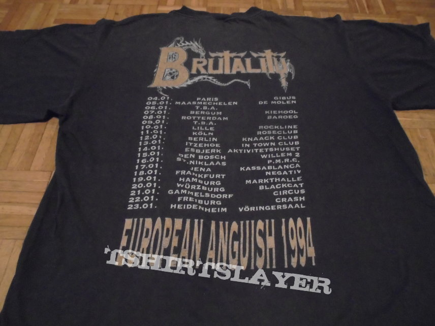 Brutality: Screams Of Anguish - Ceremonial Unearthing (Size XL)