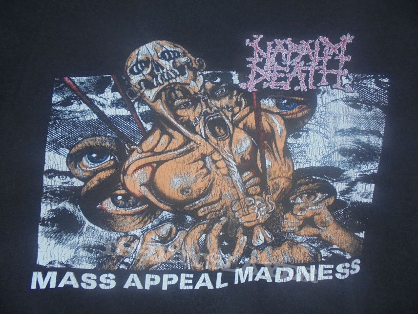 Napalm Death-Mass Appeal Madness Hooded-sweatshirt  1991