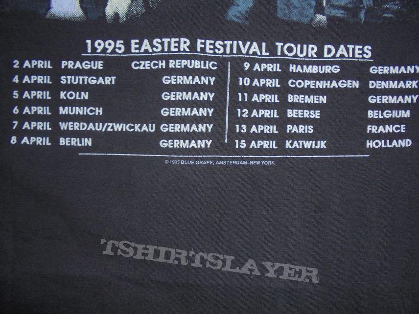"Deicide-""Once upon..."" orig. Tour-shirt 1995 Easter Festival Size: L / XL"