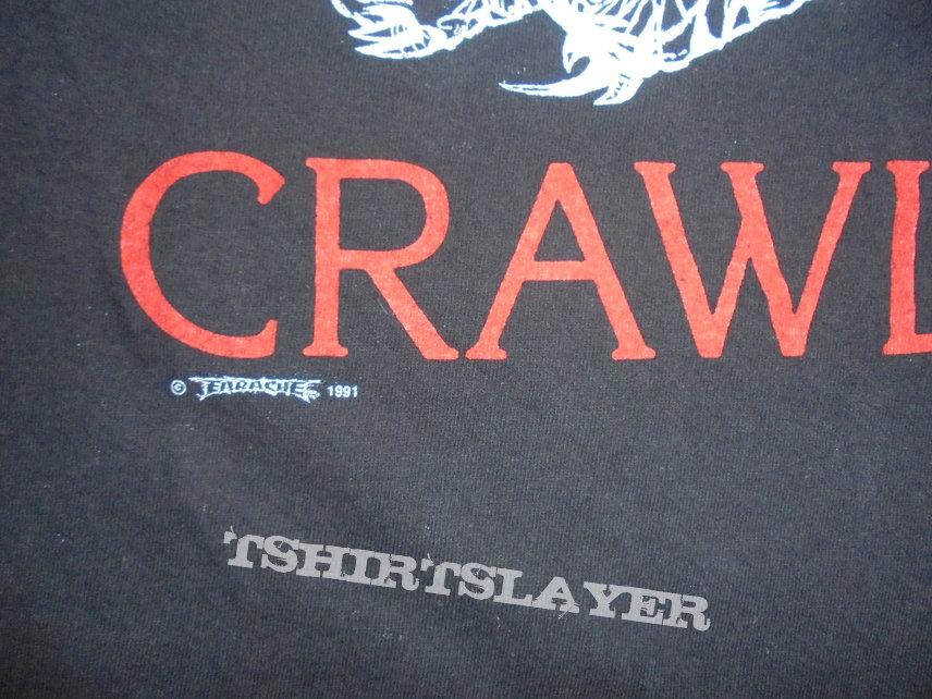 Orig. Entombed-Crawl shirt size M-L