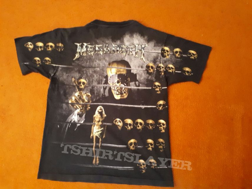Megadeth, Countdown to Extinction All Over Print