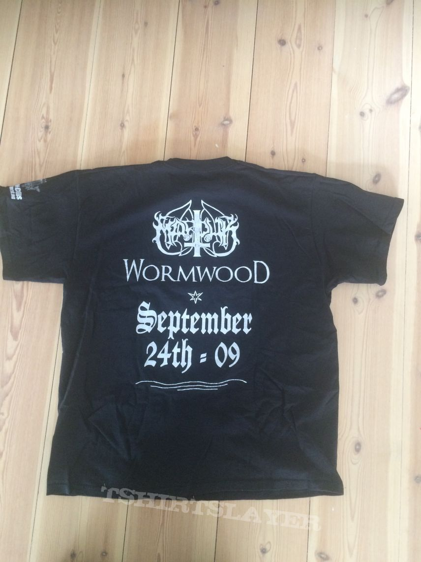 Marduk - Wormwood promo t-shirt