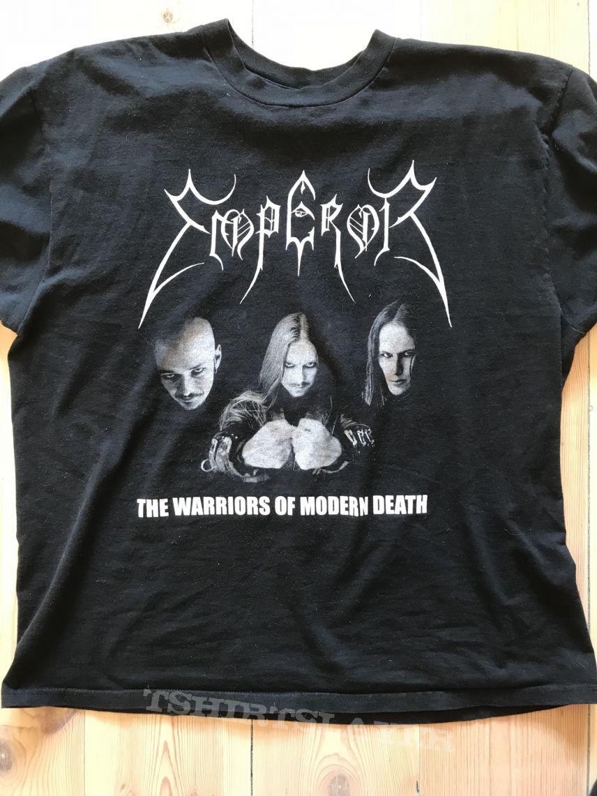 Emperor - The Warriors Of Modern Death t-shirt