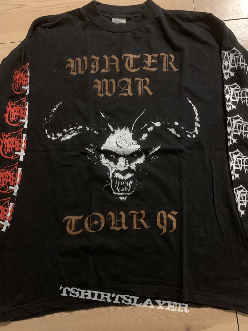 Marduk/Enslaved - Winter War Tour 95