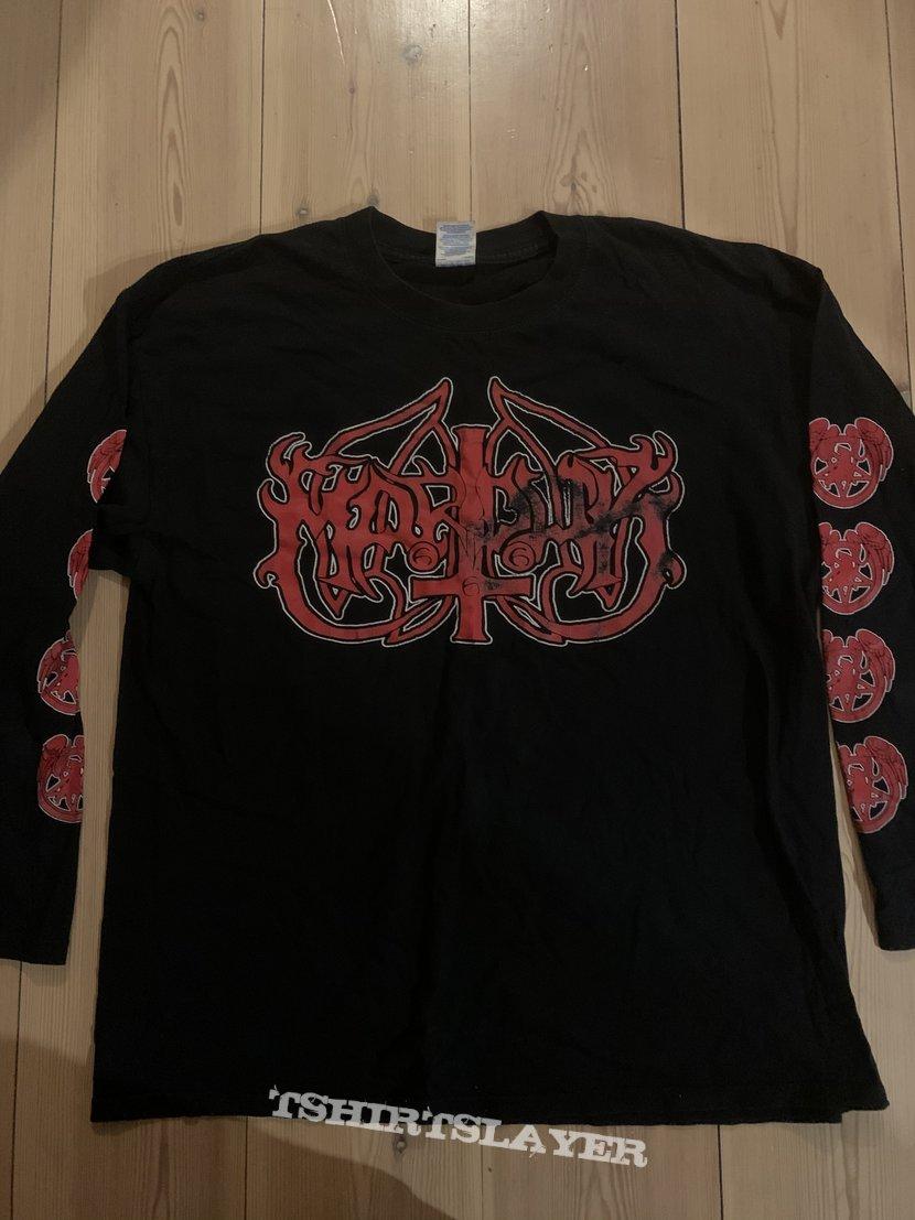 Marduk - Red logo longsleeve
