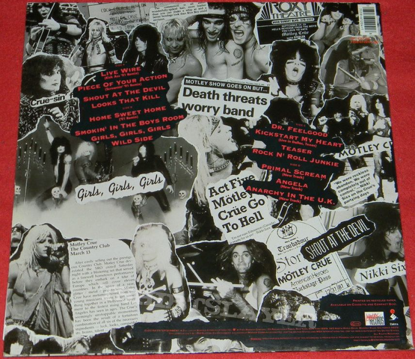 motley black singles Find great deals on ebay for motley crue single shop with confidence.