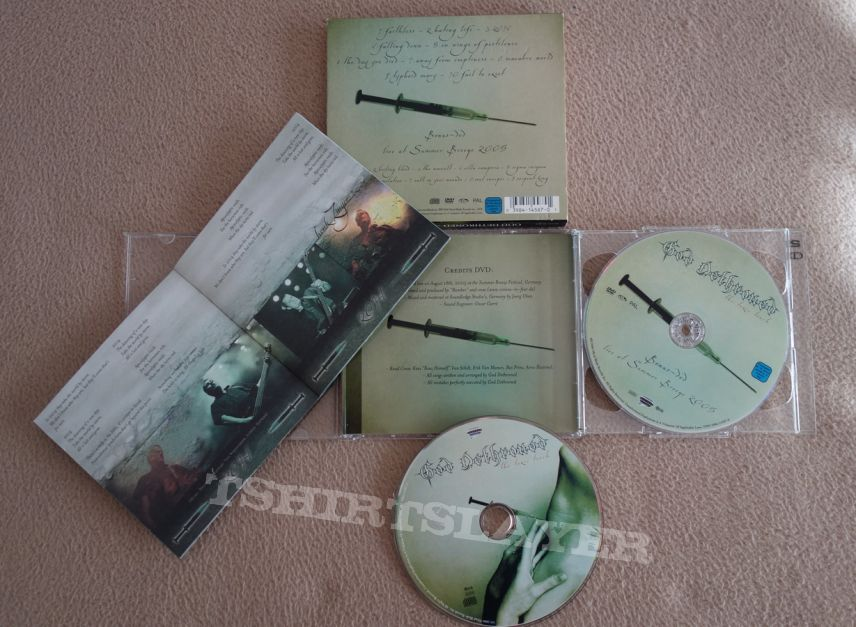 God Dethroned - The toxic touch - Slipcase