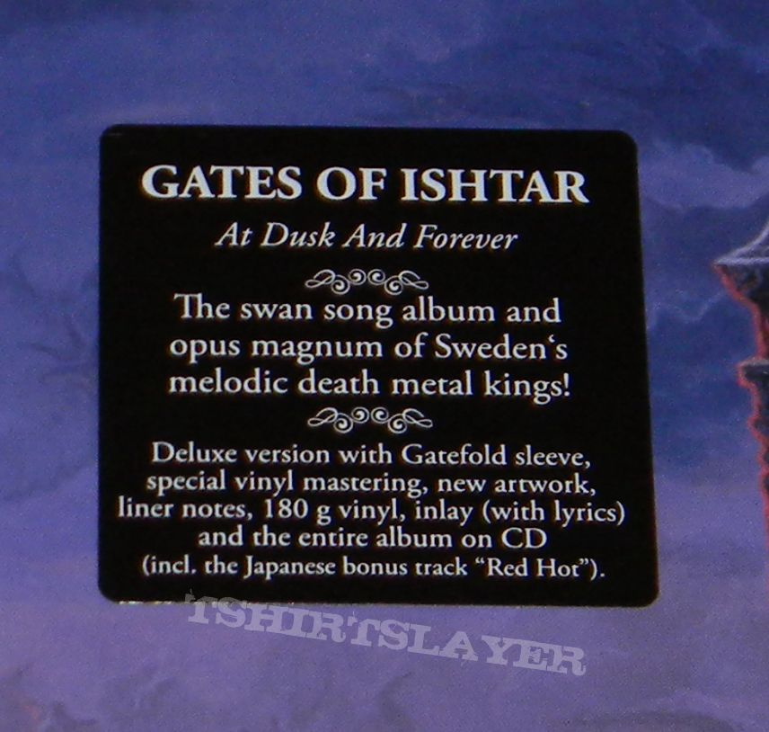 Gates of Ishtar - At dusk and forever - Re-release | TShirtSlayer ...