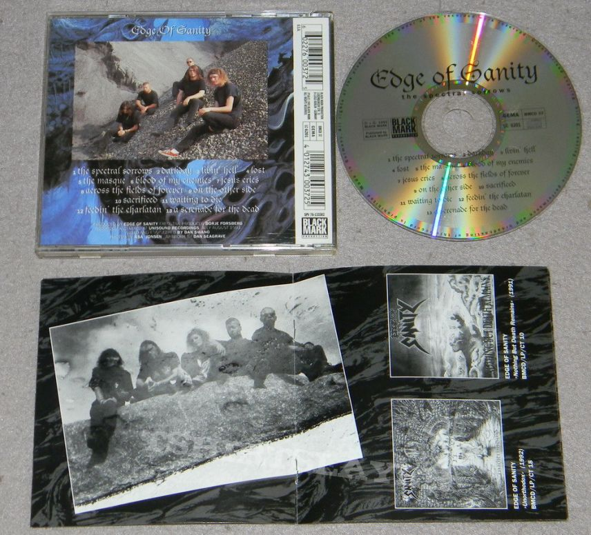 Edge of Sanity - The spectral sorrows - orig.Firstpress - CD