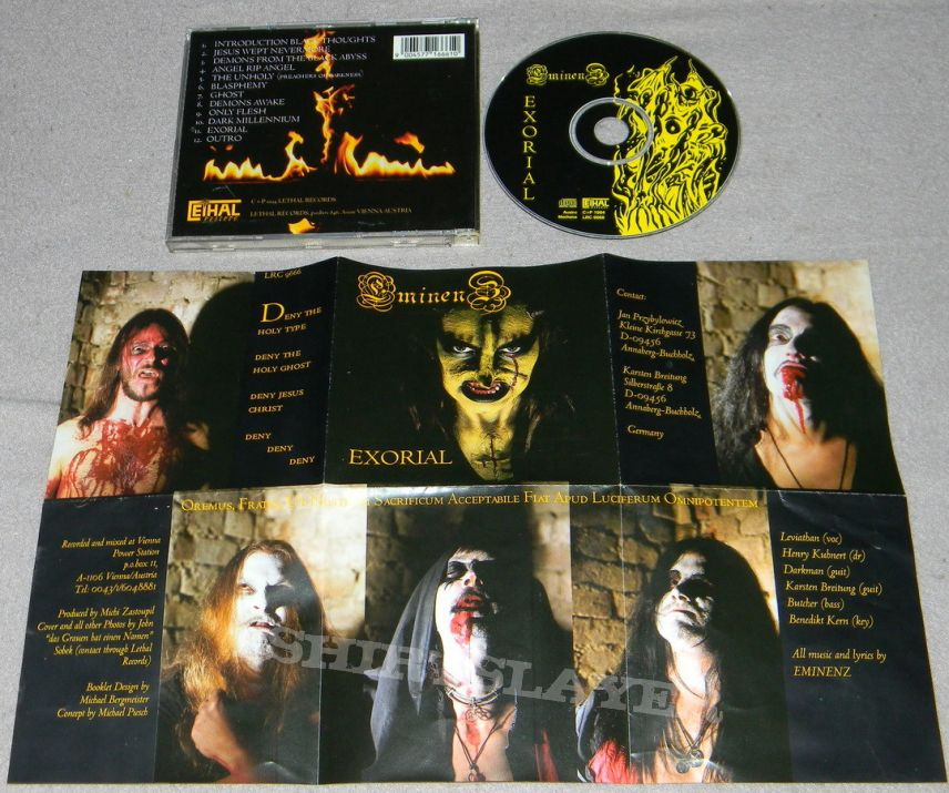 Eminenz - Exorial - orig.Firstpress - CD