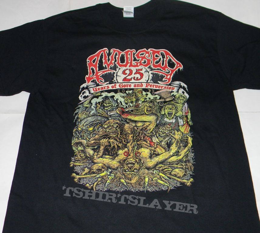 Avulsed - 25th years in gore and perversion - Tshirt