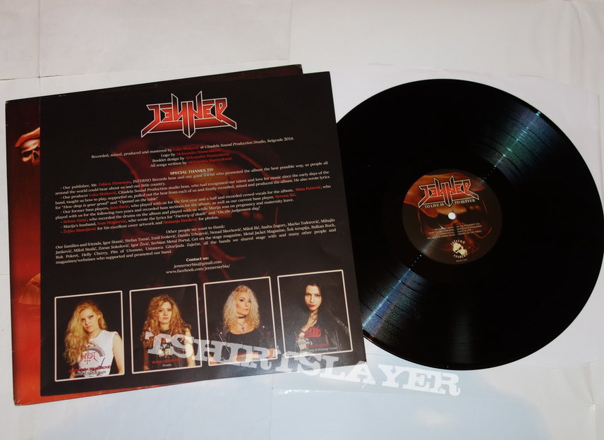 Jenner - To live is to suffer - LP