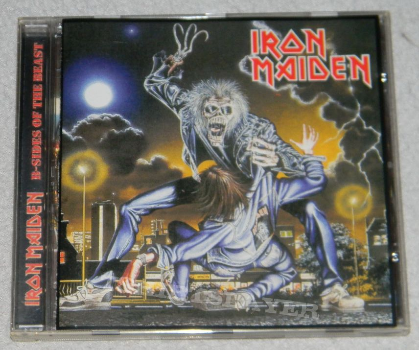 Iron Maiden - B-Sides of the beast - Part 1 - Bootleg | TShirtSlayer