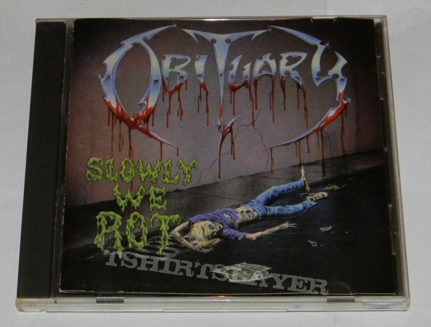 Obituary - Slowly we rot - orig.Firstpress CD