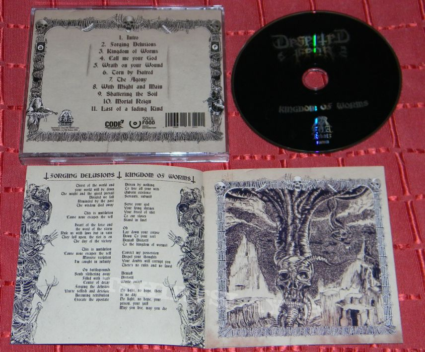 Deserted Fear - Kingdom of worms - CD