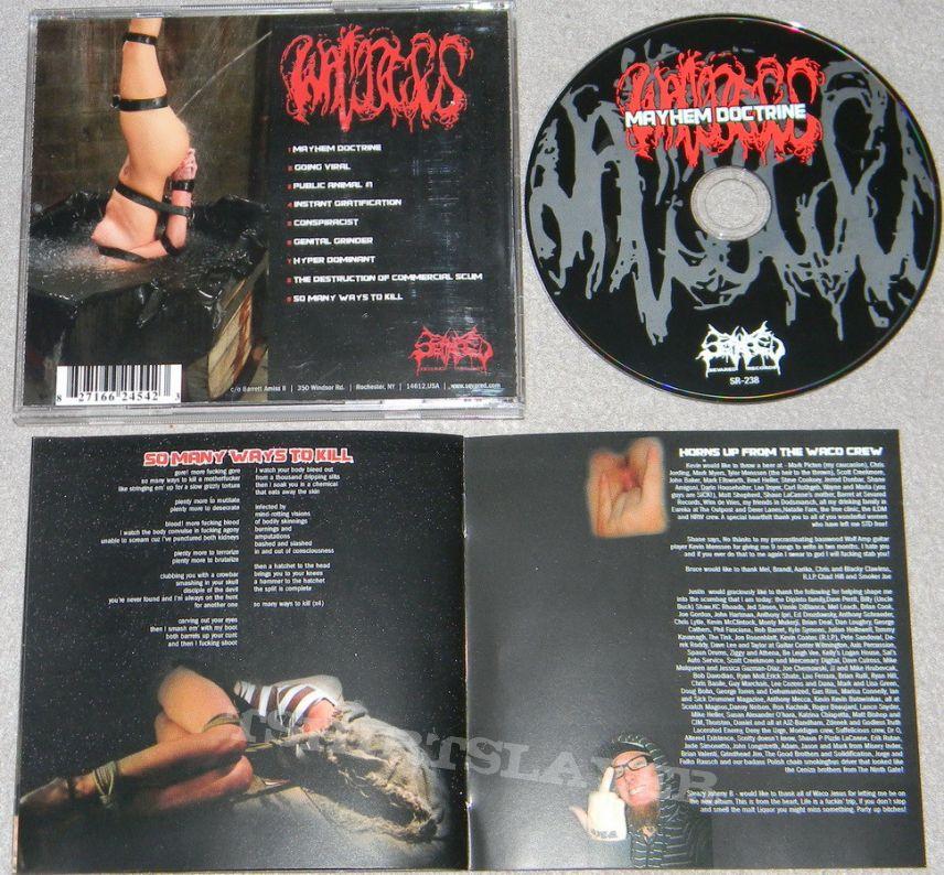 Waco Jesus - Mayhem doctrine - orig.Firstpress - CD