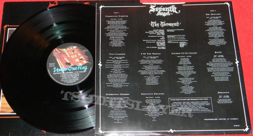 Seventh Angel - The torment - LP